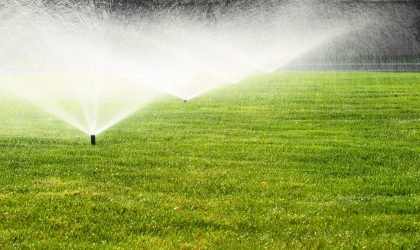 Water Efficiently. For the healthiest grass and greenest lawn, water your lawn deeply and infrequently, allowing it to partially dry between irrigations.