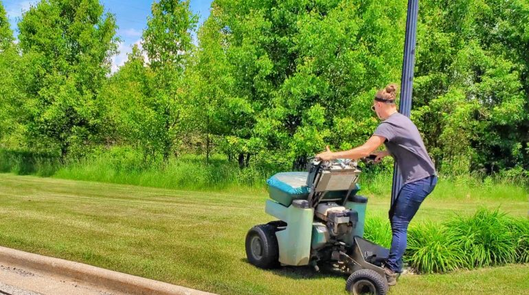 Perma-Green's experience and tools help's keep lawns green and prices reasonanable