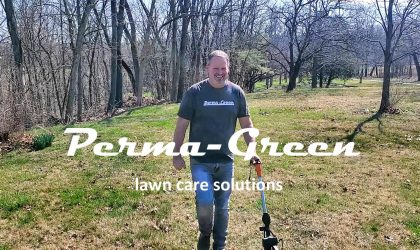A local lawn care company like Steve Daly's Perma-Green values the estimate as a long term investment in creating a relationship between you, your lawn, and his company.