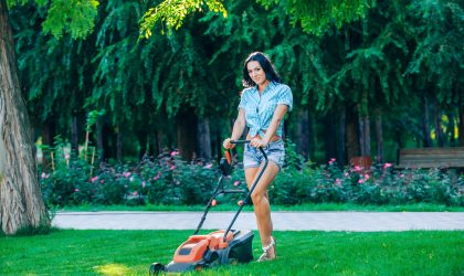 mowing at the right height for fall is important to getting your lawn ready for winter